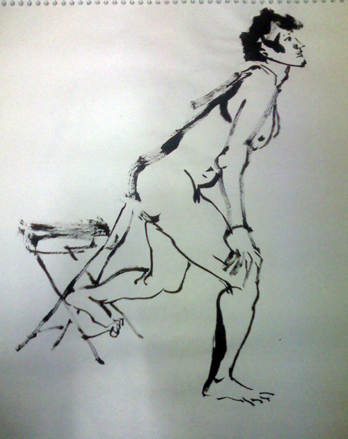 nude croquis